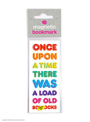 Brainbox Candy Once Upon A Time magnetic bookmark rude funny novelty cheap gift