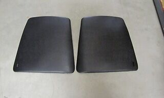 1967-70 Firebird Trans Am Bucket Seat Back Panels, Pr
