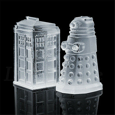 Hot Doctor Who Silicone Ice Cube Tray Candy Chocolate Baking Molds Mould Tool 55