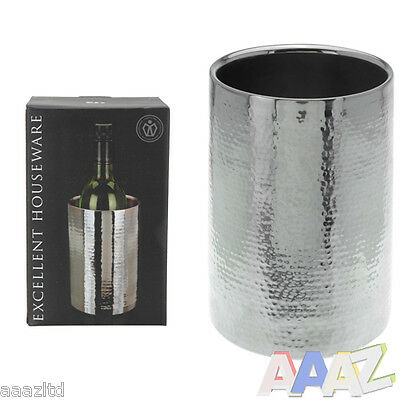 Double Wall Stainless Steel Ice Bucket Wine Cooler Champagne Cooler Wine Bucket