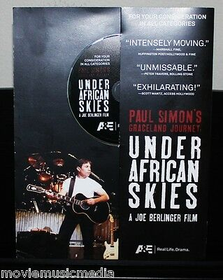 PAUL SIMON Graceland African Concert Lot of 3 Rare Promo DVD Under African Skies