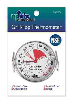 Grill-Top Griddle Surface Thermometer NSF THGT-20