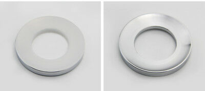 Glass basin stainless steel Mounting Ring Sink Chrome Mount Support Drain Spacer