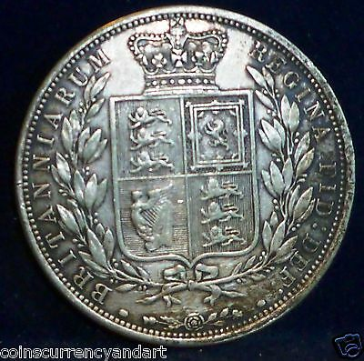 UK - Halfcrown, Queen Victoria, Great Britain, 1881