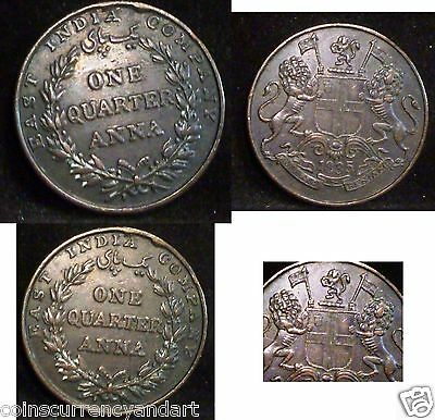 1835  1/4 Anna   British East India Company