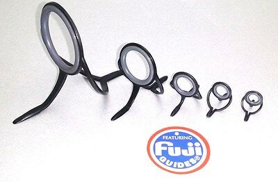 Fuji Hardloy Grey Ring Guide Fishing Rod Building Component BNLG