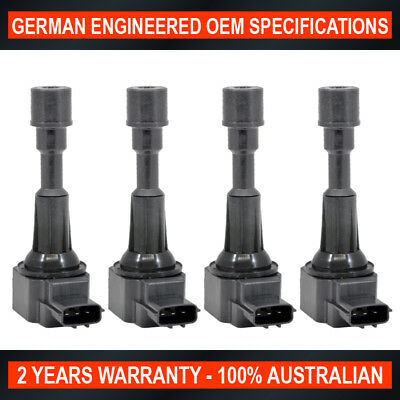 4 x Brand New Ignition Coil Pack for Mazda 2 DY 1.5L