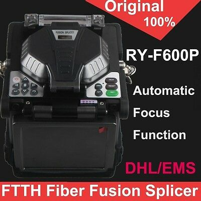 Original RY-F600P Digital FTTH Palm Top Fusion Splicer Automatic Focus Function