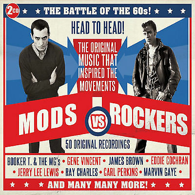 Mods Vs Rockers  - 2 CD SET - BRAND NEW SEALED The Battle Of The 60s - HITS