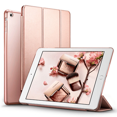Magnetic Leather Smart Stand Cover Case Sleep Wake APPLE iPad 9.7-inch (2017)