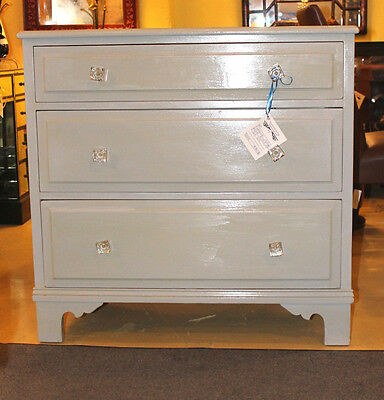 3 Drawers Swedish Painted Dresser 101-297