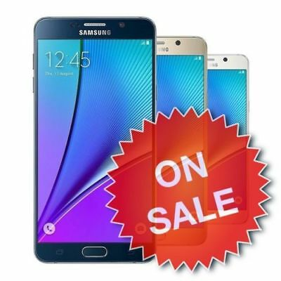 Samsung Galaxy Note 5 Verizon T-Mobile Metro-PCS ATT 4G LTE GSM 32 64 Android