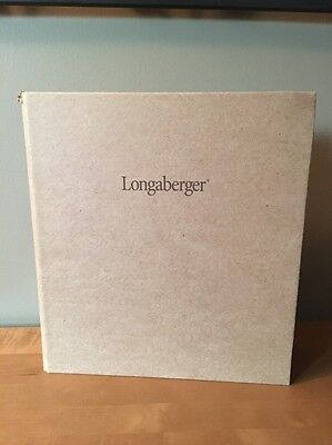 "Longaberger Consultant 3-Ring 2"" Notebook Binder - Brown"
