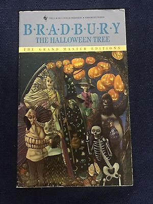 Ray Bradbury Sci-Fi Fantasy Author The Halloween Tree Rare Signed Autograph Book