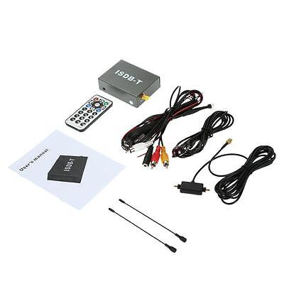Mini ISDB-T Car Digital TV Box DVD Analog TV Receiver South America Signal PR07