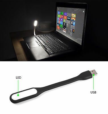 Mini USB Port LED Light Computer Lamp For Notebook Reading PC Laptop Power Bank
