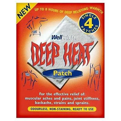 Deep Heat Pain Relief Heat Patch 16 Hours 4 Patches