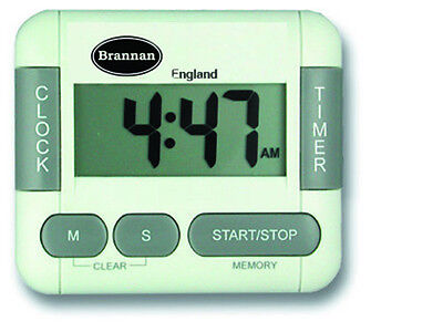 Brannan Digital Kitchen Timer & Clock - Ideal For Cooking & Catering - 28/210/0