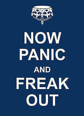 Now Panic And Freak Out : Wh2# : Hbs 030 : New Book
