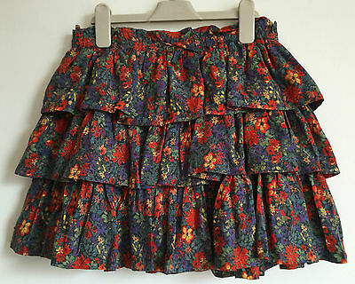 Next Floral Tiered Rara Skirt Ages 14 & 15  years  RRP £18