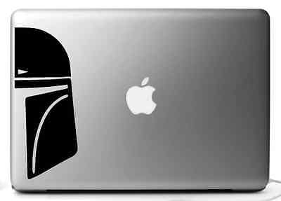 Stickers for Mac BOBA FETT, vinyl decal for MacBook pro air 11, 13 15, 17''