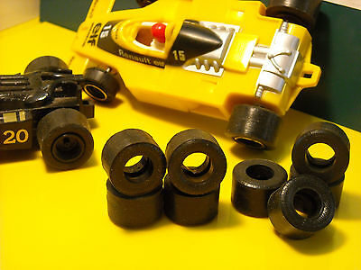 8  urethane tyres  F1 Renault SCALEXTRIC HORNBY - UK