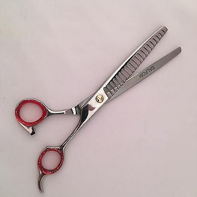 "7.5"" Professional Dog Pet Grooming Chunker Thinning Texturising Scissors Shear"