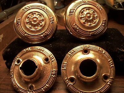 Antique -Victorian -Old-Cast Bronze Door Knob-Yale - M-110 (C.1905)