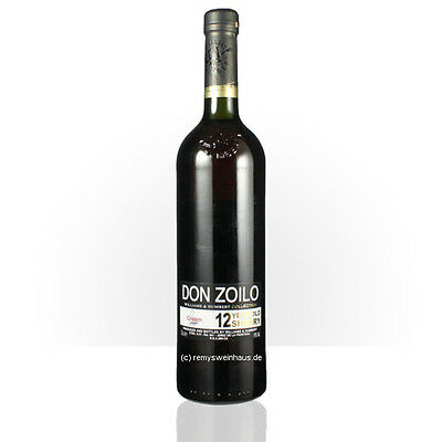 (1L=€21.20) Williams & Humbert Sherry Cream Sweet Don Zoilo 12 Year old 0.75  Li