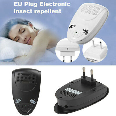 Hot Ultrasonic Electronic Pest Mouse Bug Mosquito Insect Repellers EU Plug