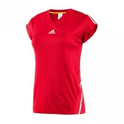 adidas Tennis W Competition Cap rot Shirt Tee