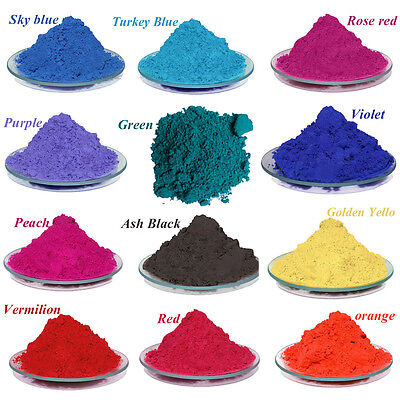 31°C Thermochromic Pigment Powders Mood Powder Changing Color Powder 13color