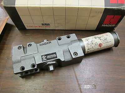 Hager 5101 Adjustable 2-6 Door Closer Body Dark Bronze 72078 NOS