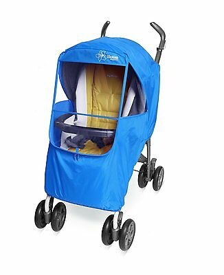 [Manito] Elegance Plus Stroller Weather Shield / Rain Cover (Blue) [Manito USA]