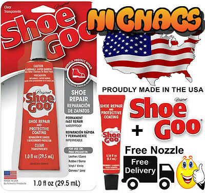 Shoe Goo Shoe Glue Or Nozzle Mend Repair Trainer Boot Shoes Skateboards