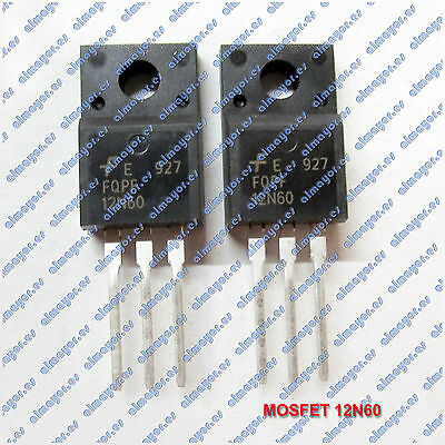 MOSFET 12N60 N- Channel 600V 12A