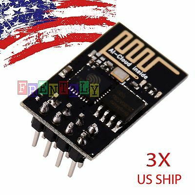 3PCS ESP8266 Serial WIFI Wireless Transceiver Module Send Receive LWIP AP+STA