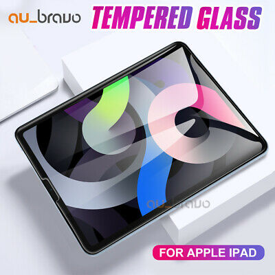 Tempered Glass Screen Protector for Apple iPad 6 5 4 3 2 Pro Air 2 Mini 4 3 2 1