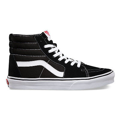 Vans - Sk8 Hi Mens Shoes Black