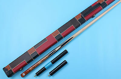 【MAPLE SHAFT】 Weichster One 1Piece Handmade Snooker/Pool Cue+Case+Extension