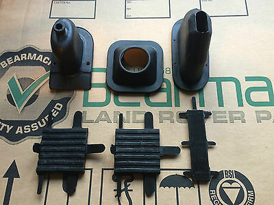 Bearmach Land Rover Series 2, 2a & 3 Interior Refurb Kit Pedal Rubber & Gaiters