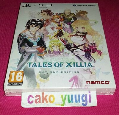 Tales Of Xillia Day One Edition Ps3 Neuf Sous Blister Version 100% Francaise