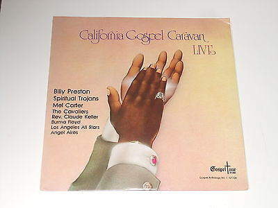 Black Gospel - California Gospel Caravan - LP - Live - Billy Preston -Mel Carter