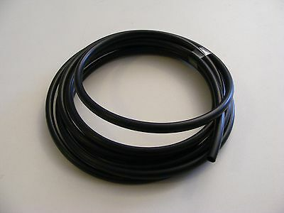 "Black PVC wire sleeve 1/4"" .25"" 10 feet vintage polaris arctic cat snowmobile"