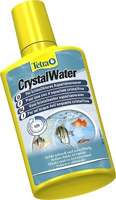 TETRA Crystal Water 100ml,250ml WATER CLEANER  CLOUDY AQUARIUM TREATMENT