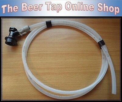 "3/8"" Beer Line/Pipe With Beverage Ball Lock Disconnect for Cornelius/Corny Kegs"