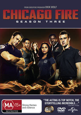 Chicago Fire Season / Series 3 - from producer of Law & Order DVD R4 New!