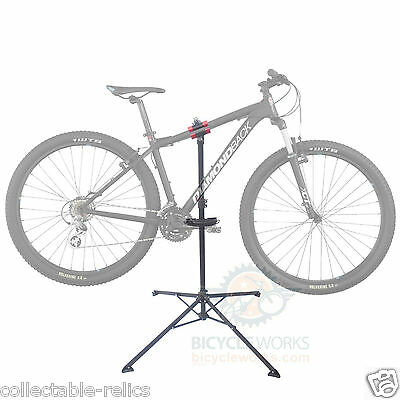 Bicycle Workshop Repair Stand Folding Portable Home Bike Mechanic Tool Storage