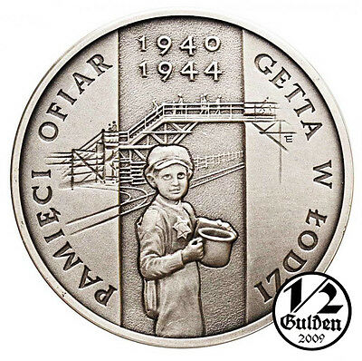 POLAND 20 Zlotych 2004 Victims in Litzmannstadt Ghetto Silver Proof Coin
