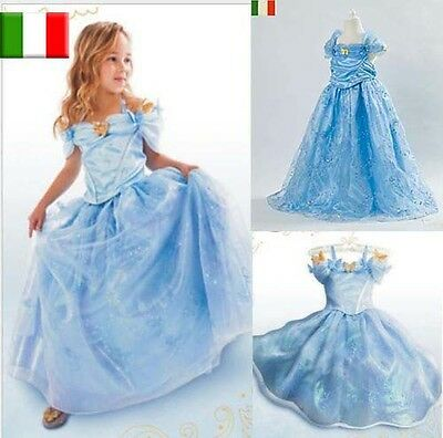 Vestiti Carnevale - Dress up Princess Cinderella Costumes costume vestitino
